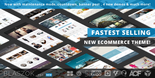 Blaszok v3.1 - Ultimate Multi-Purpose Responsive Theme