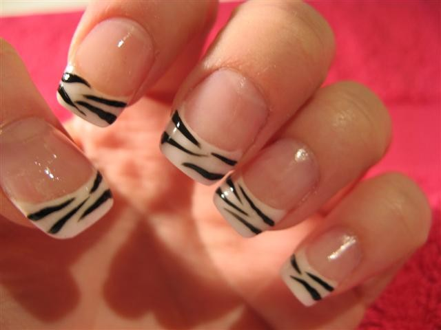 The Appealing Zebra print nail art designs Picture