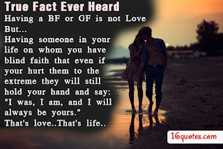 true fact ever heard images with love quotes