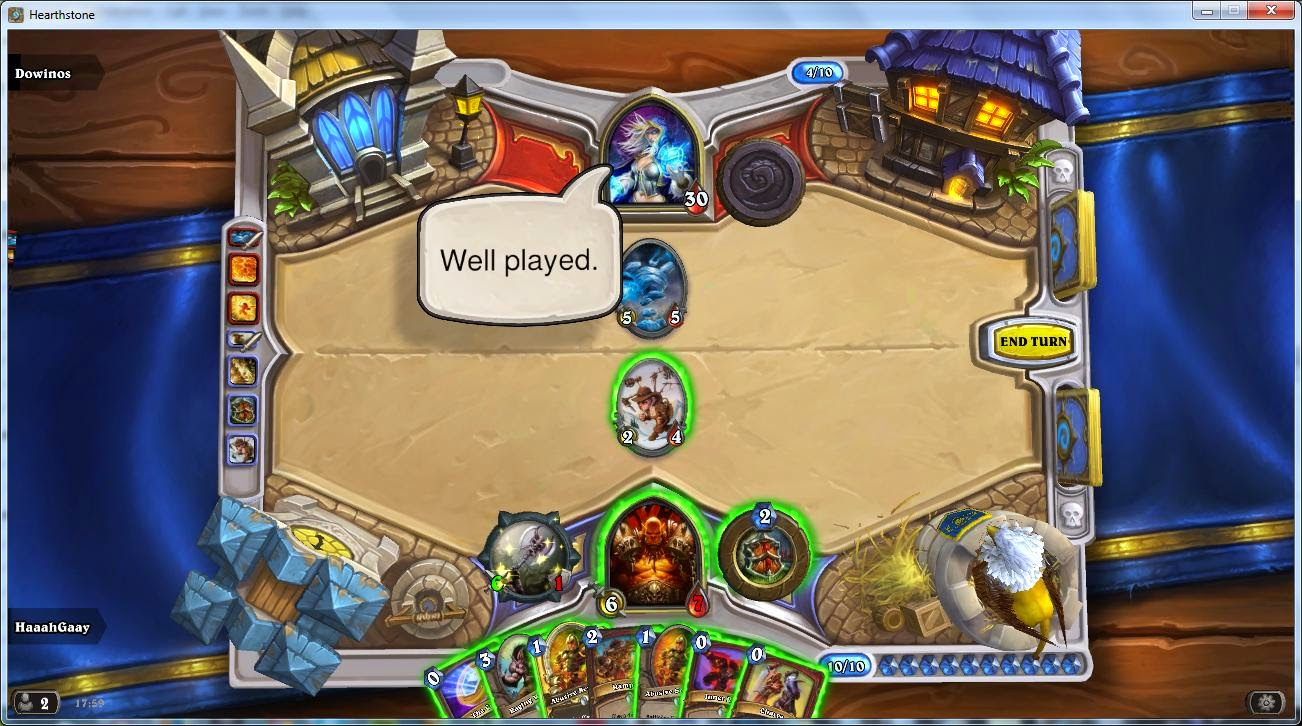 Real Hearthstone bot