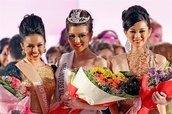 Miss Universe Malaysia 2013 winner Carey Ng