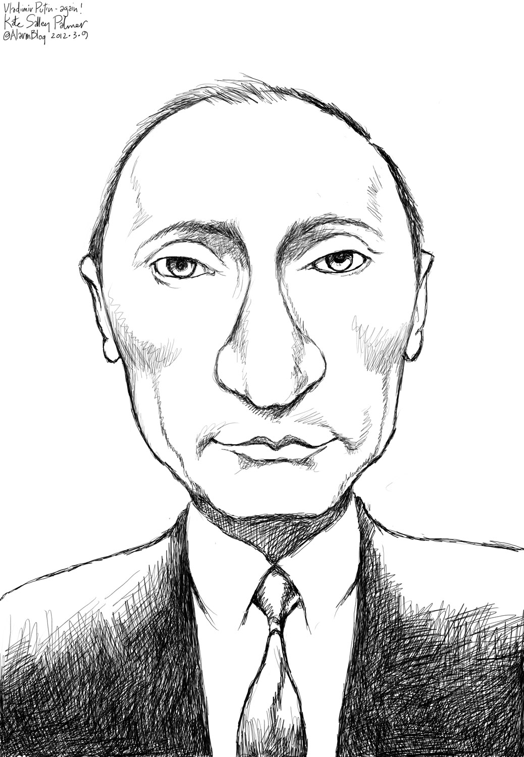 Drawn by Vladimir Putin appeared on the cover of New Yorker 03/06/2017 13