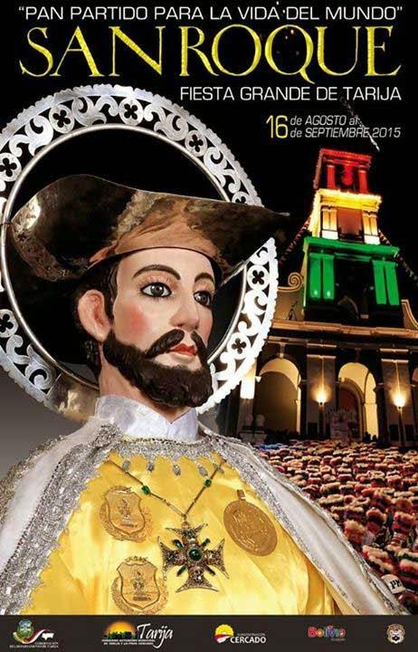 """Se realizó presentación del afiche de la """"Fiesta de San Roque"""" 2015"""