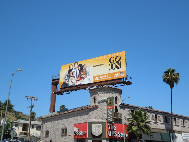 Go On season 1 billboard