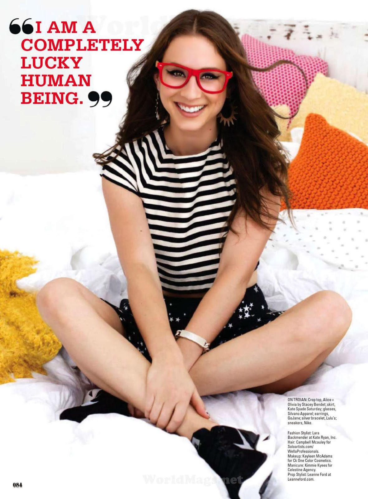 Troian Bellisario HQ Pictures Seventeen Magazine Photoshoot February 2014