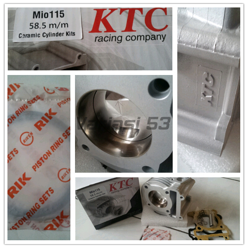 Bore Up Kit KTC Yamaha Mio 58.5 mm Ceramic