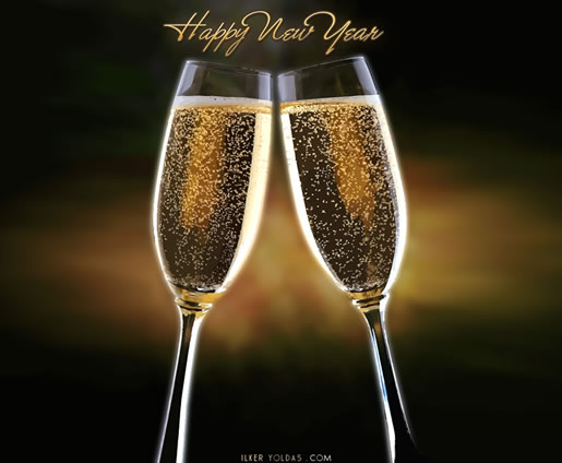 Brindis Happy New Year