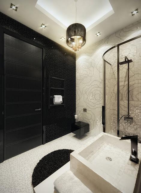 Ванная комната в квартире на Б. Дмитровке