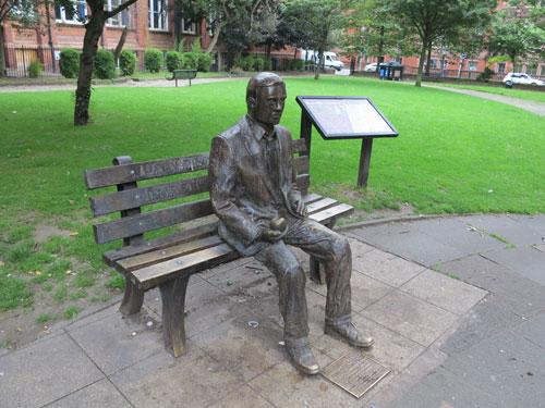Alan Turing Memorial Sackville Park, Manchester