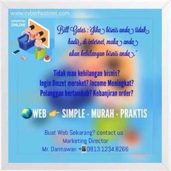 JASA PEMBUATAN WEB   SIMPLE - MURAH - PRAKTIS