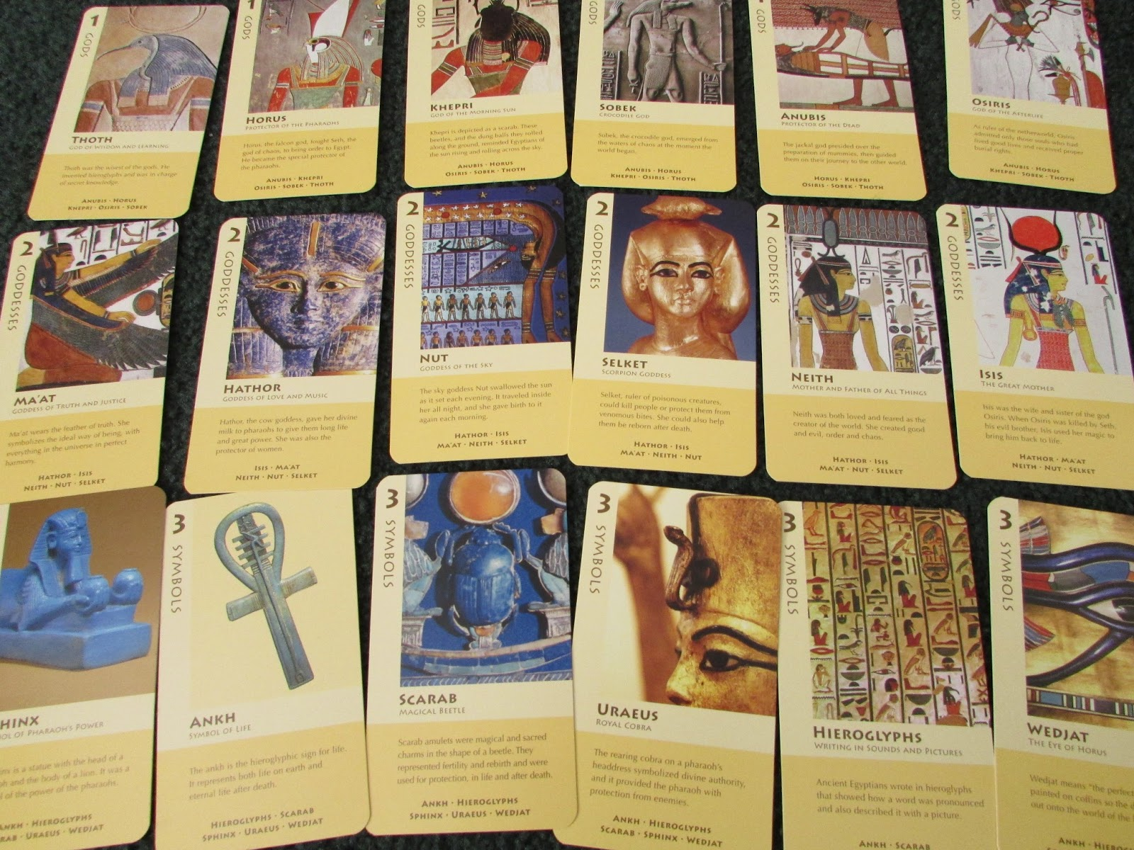 Go Fish For Ancient Egypt Birdcage Press Review Teach Beside Me