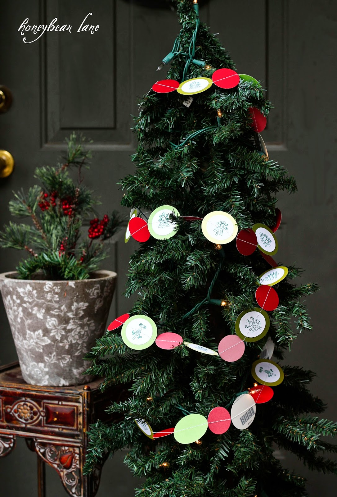 Stamp Camp Diy Christmas Tree Garland