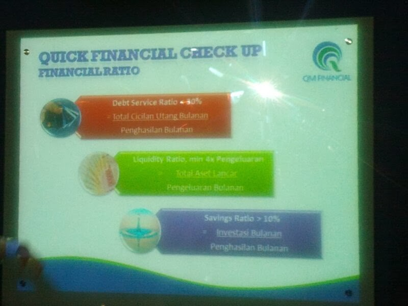 Qucik Financial Check Up
