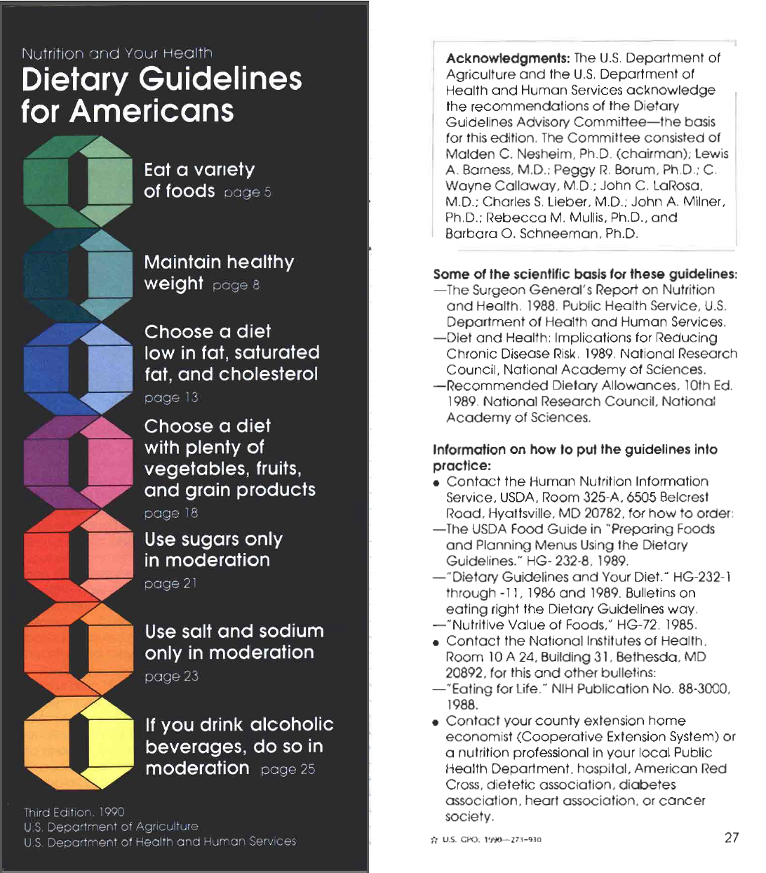 dietary guidelines for fat intake
