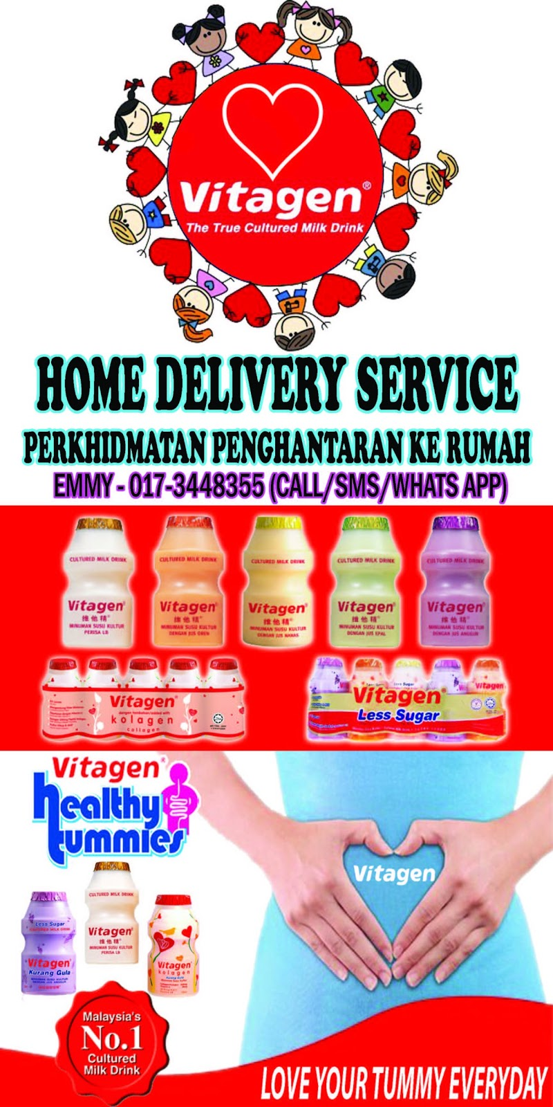 Vitagen Home Delivery Service
