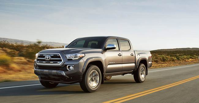 2017 Toyota Tacoma Sel Conversion