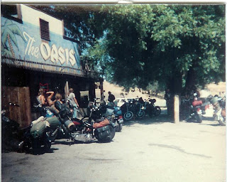 Harleys at the Oasis