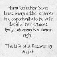 harm reduction saves lives quote