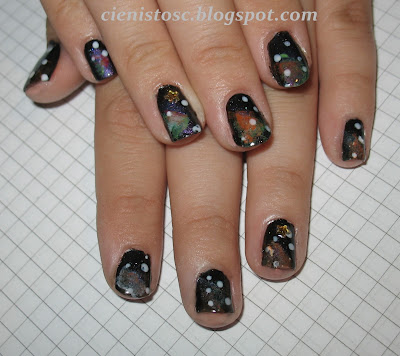 Gościnne: Galaxy nails