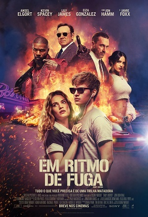 Em Ritmo de Fuga BluRay Filmes Torrent Download capa