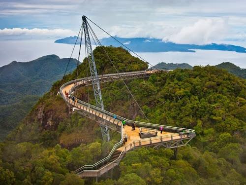 LANGKAWI SKY BRIDGE -/ A PONTE NO CÉU / NA MALÁSIA