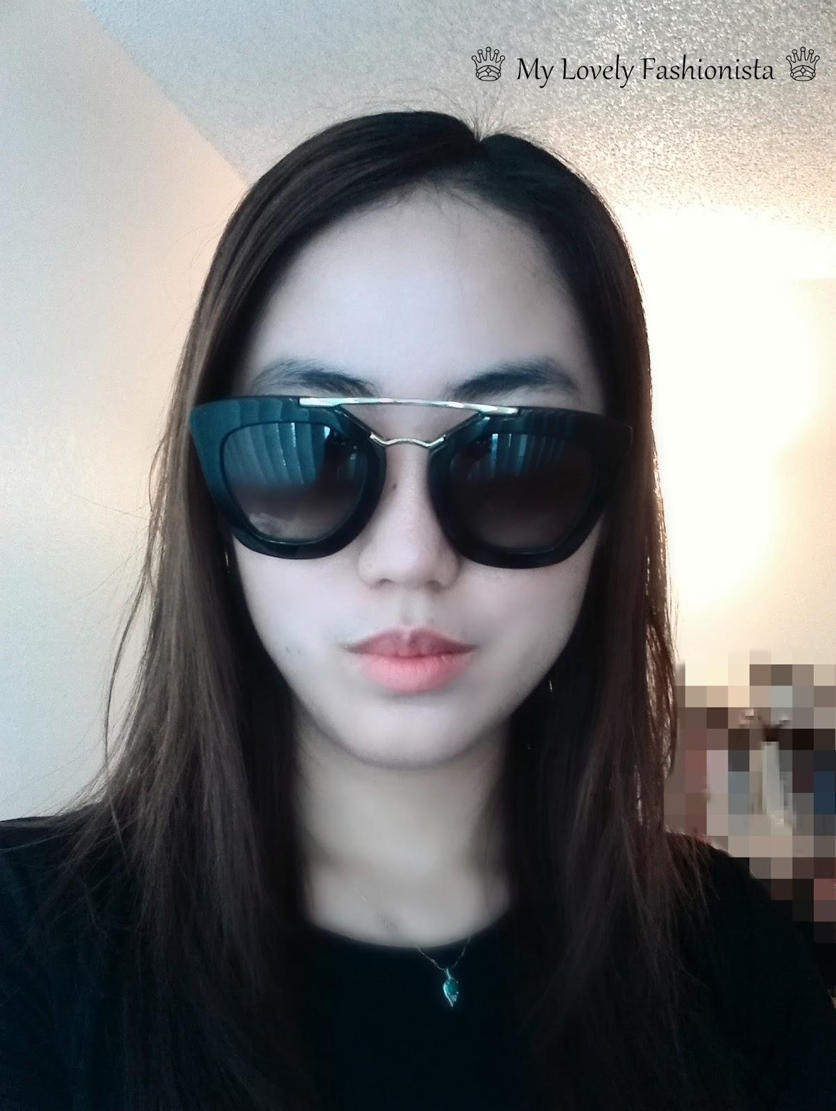 Prada Cat Eye Sunglasses - ♕ My Lovely Fashionista ♕