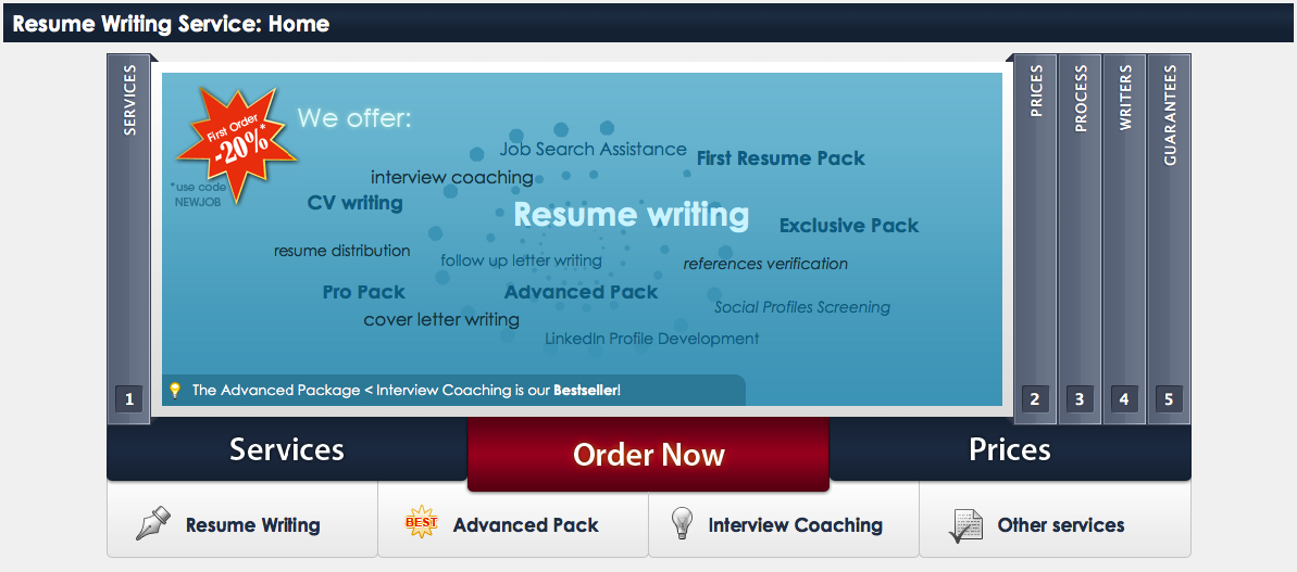 resume writing software reviews