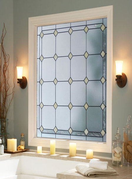 elegant solid bathroom window ideas