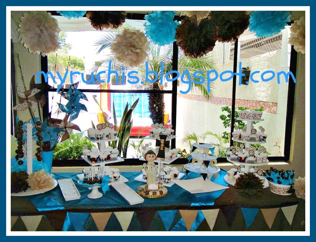 Mayo 2013 eventos sweet myruchis - Decoracion de mesa para comunion ...