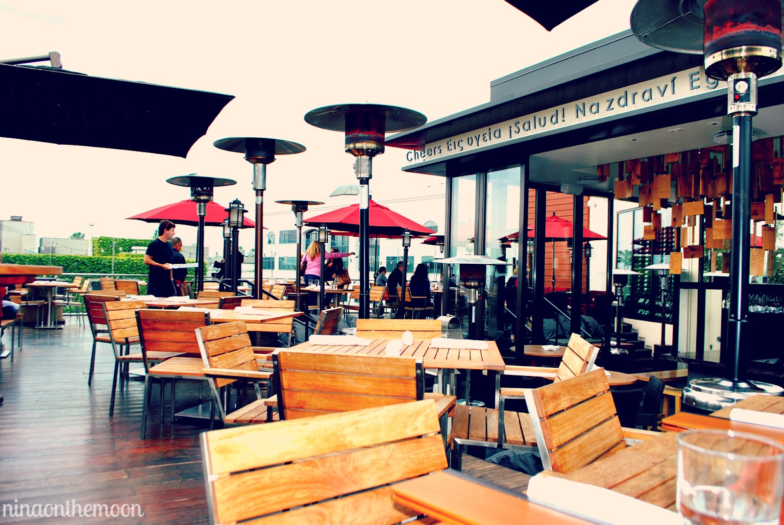 ... From Full Figured Potential At Sonoma Wine Garden, In Santa Monica. I  Really Liked The Restaurantu0027s Layout: 1) Dining Room, 2) Deck 3) Patio And  4) Bar; ...
