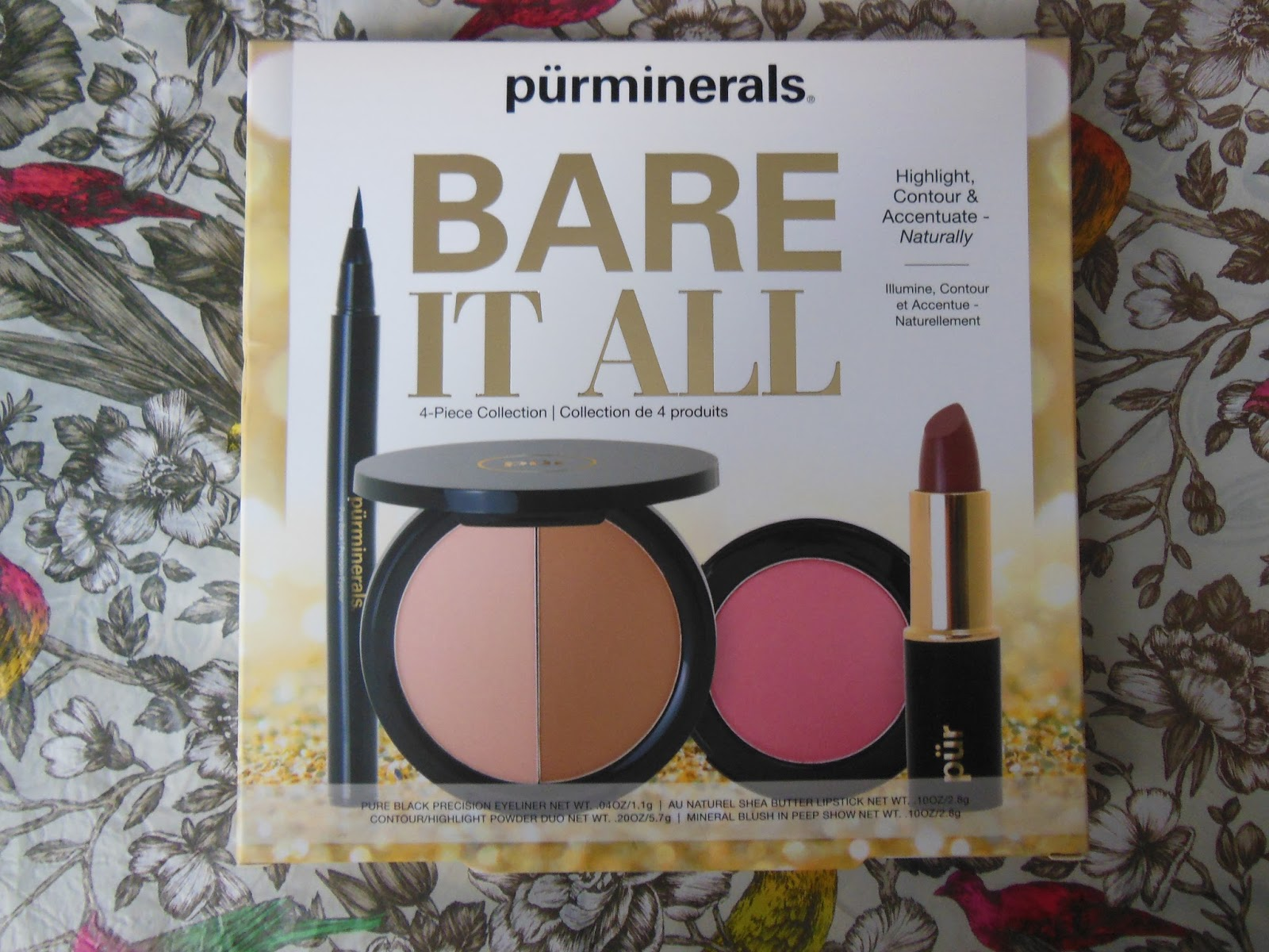 Pur Minerals Bare It All collection