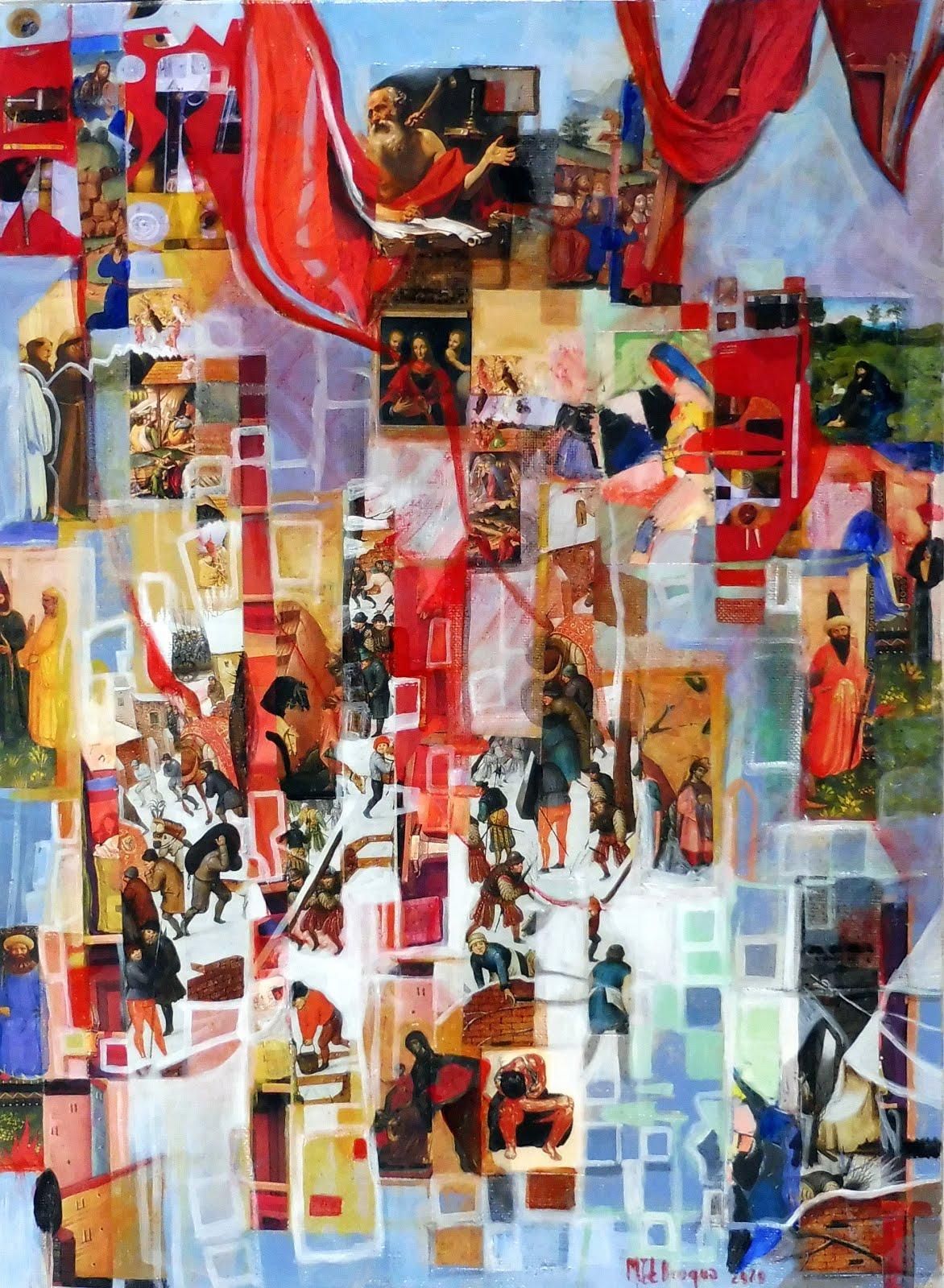 Lever de rideau - 39 x 53 cm - 2020