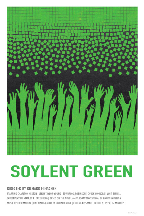 Cinephiliaque soylent green for Soylent green is people