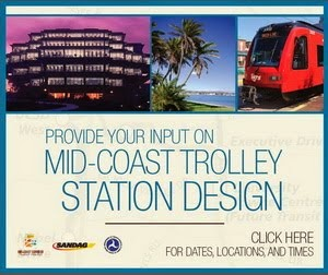 Mid-Coast Trolley Station Design