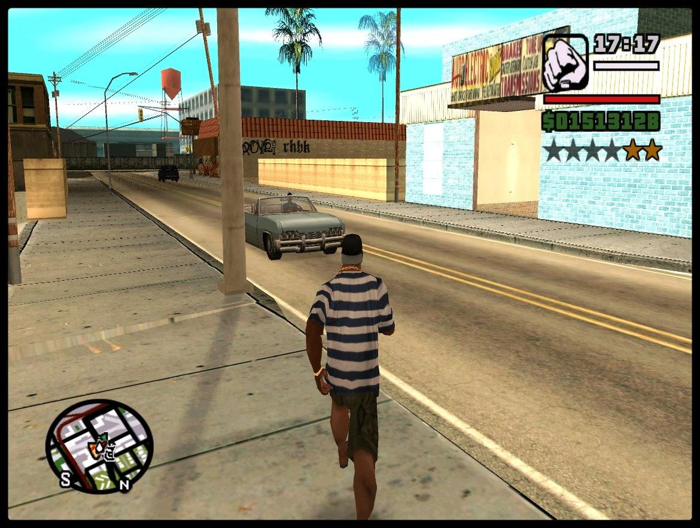 GTA SA - Mod Assaltar Locais Como No GTA V