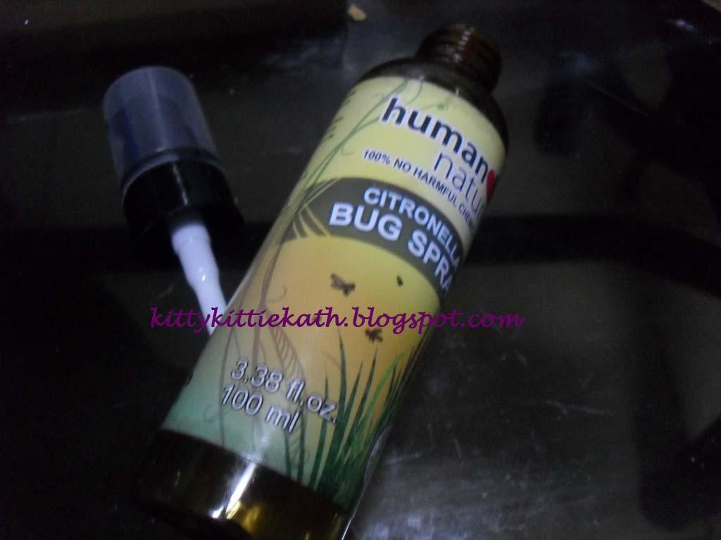 Human Nature Citronella Bug Spray Review