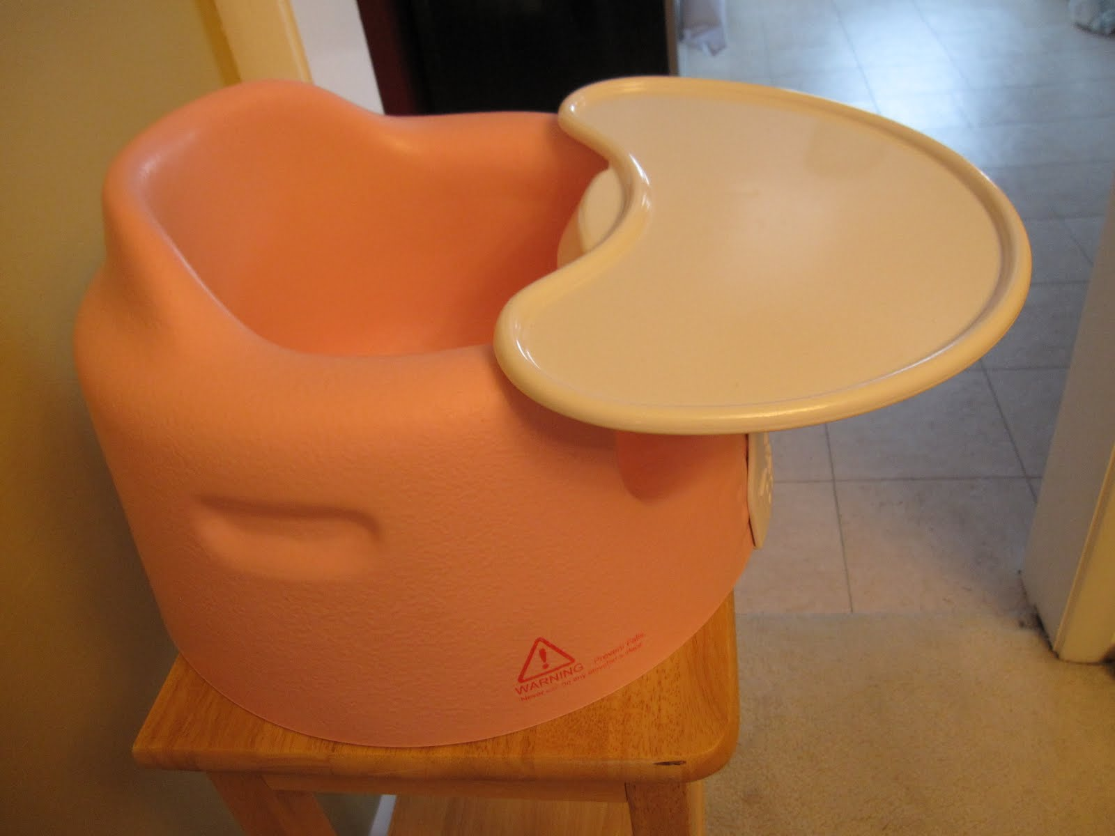 Presale Garage Sale ITEM 10 $25 00 Pink Bumbo Chair with Tray