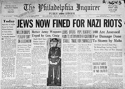 the importance of kristallnacht to the jewish holocaust The reaction of non-jewish germans to kristallnacht was varied what led to the night of broken glass, by the center for holocaust and humanity education.