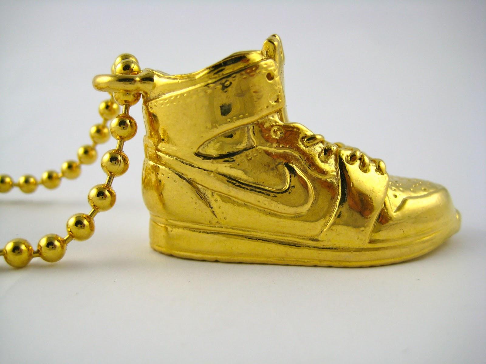 Don D World Air Jordan 1 Nike Dunks X King Midas Gold Chain