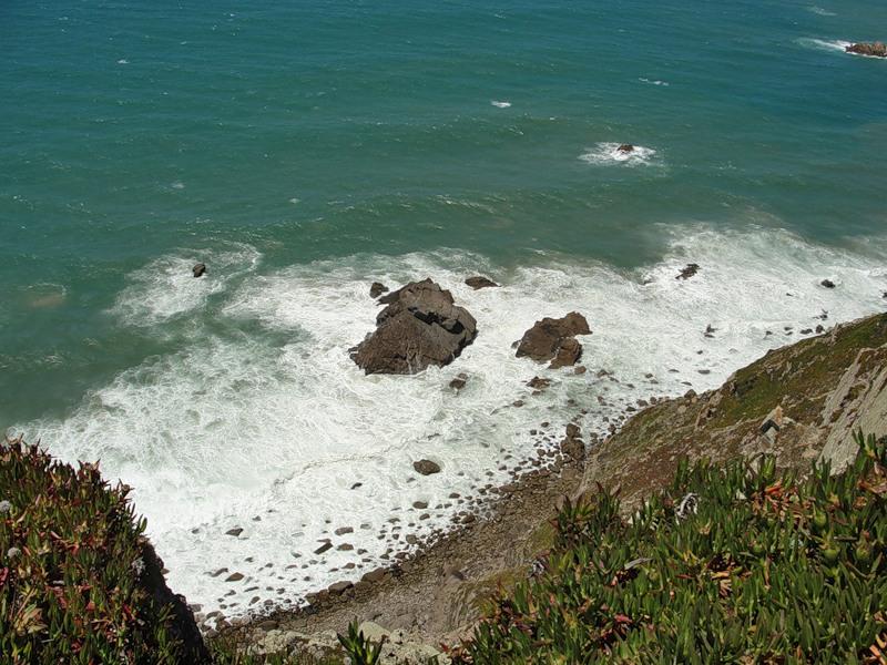 El cabo de la roca donde la tierra acaba y el mar for De donde es la roca
