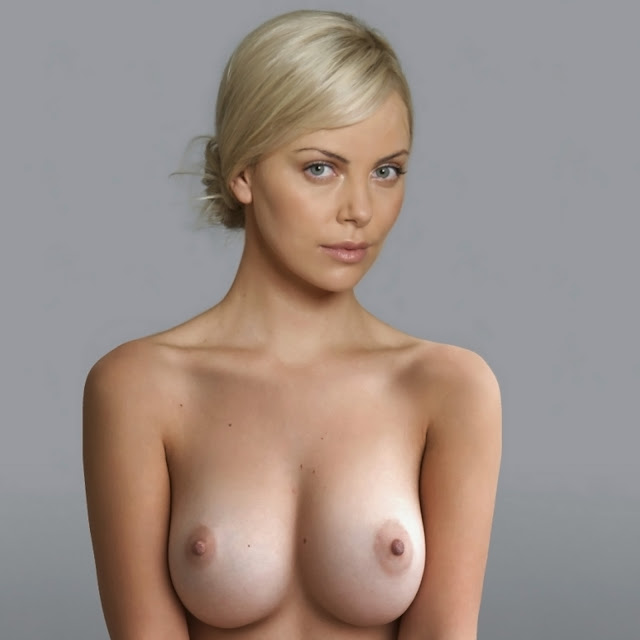 Charlize Theron Nude Clasic Naked Big Boobs