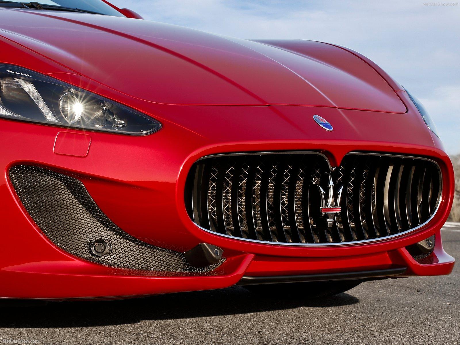 Hình ảnh siêu xe Maserati GranCabrio Sport 2013 & nội ngoại thất