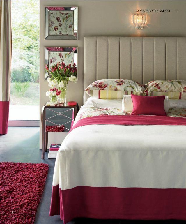 Respaldo de cama pintado y tapizado muebles reciclados - Muebles laura ashley ...