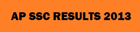 AP SSC Results 2013