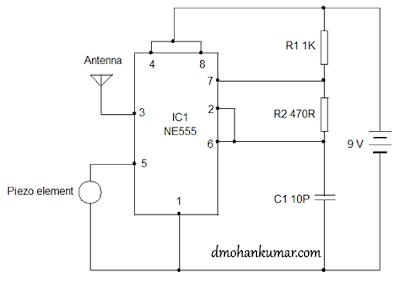 Using+555+as+FM+transmitter+Circuit+Diagram fm transmitter antenna resources 2014  at bayanpartner.co
