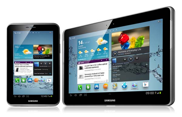 Samsung Galaxy Tab 2 10.1 and Galaxy tab 2 7.0 Receives Jelly Bean Update