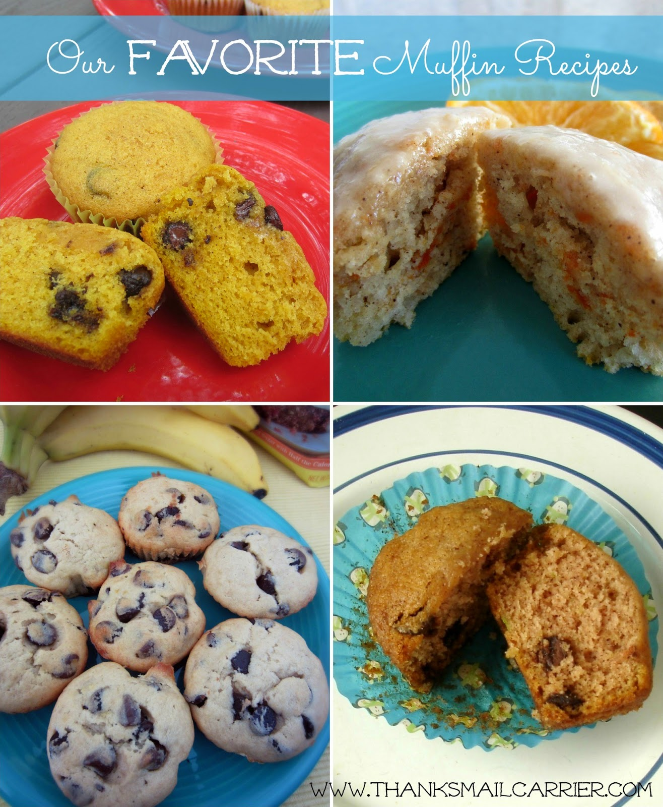 favorite muffin recipes