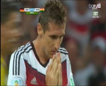 اهداف مباراة المانيا وغانا  2-2 فى كأس العالم