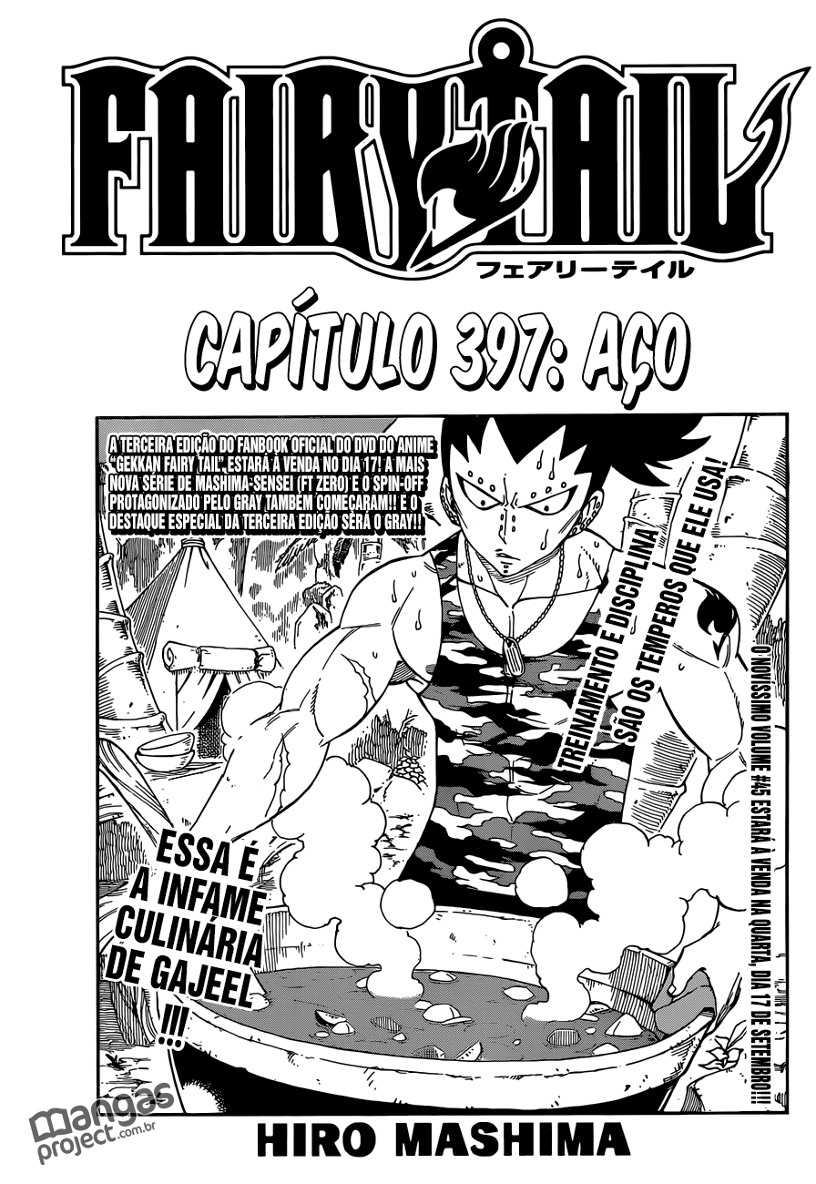 MANGÁ FAIRY TAIL 397