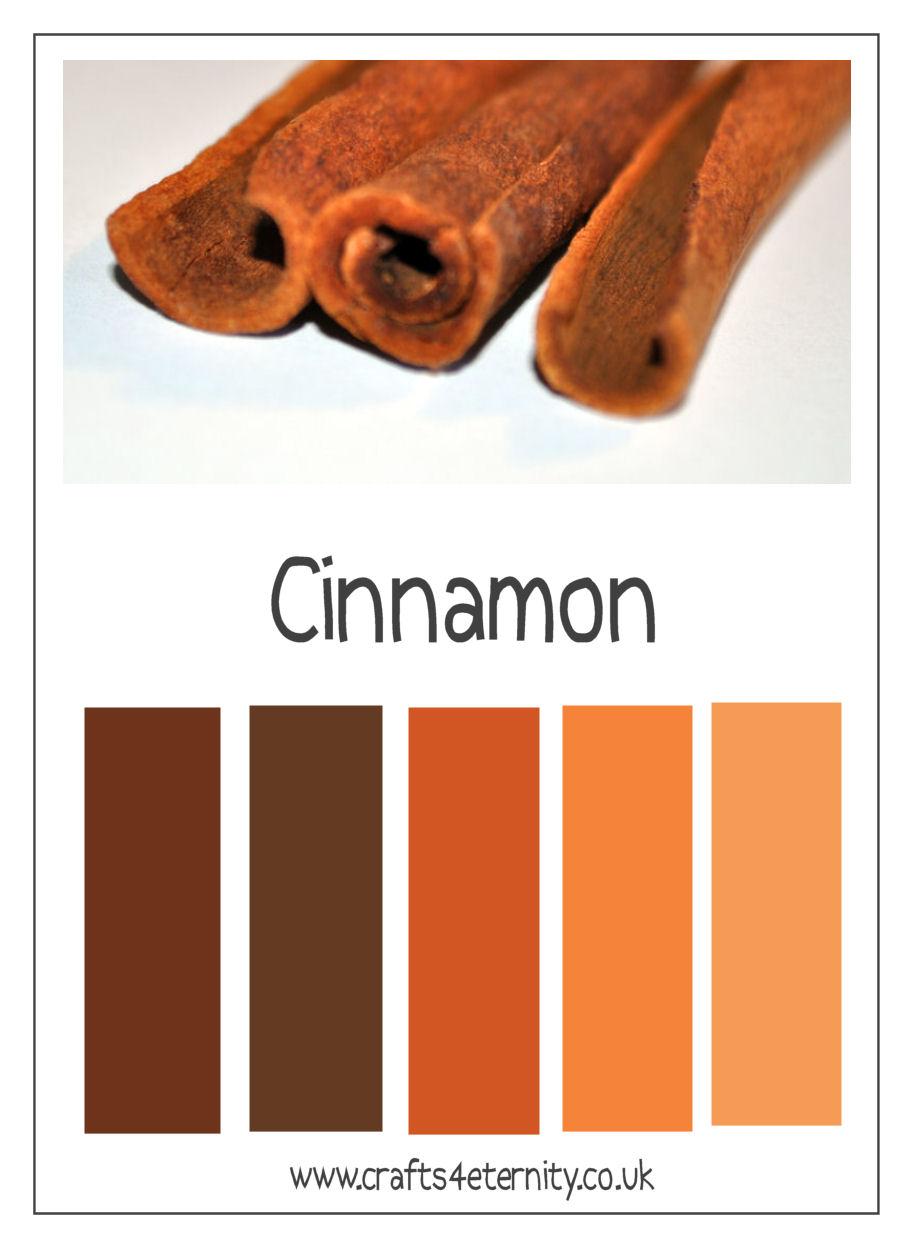 Whimsical Creations Color Recipe Cinnamon